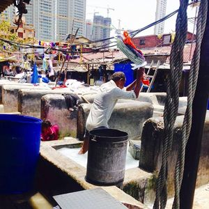 A Day In Mumbai Slum