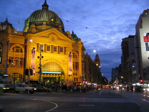 Flinders Street Station 1/5 by Tripoto