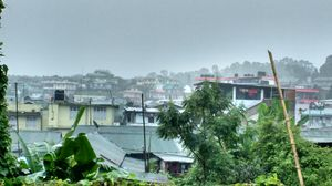 Monsoon in Meghalaya