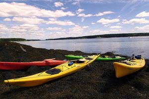 Maine sea Kayaking and Camping