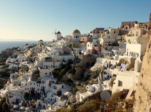 The sheer beauty of Santorini