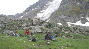 On the Bakkerwaal's trail at Hampta
