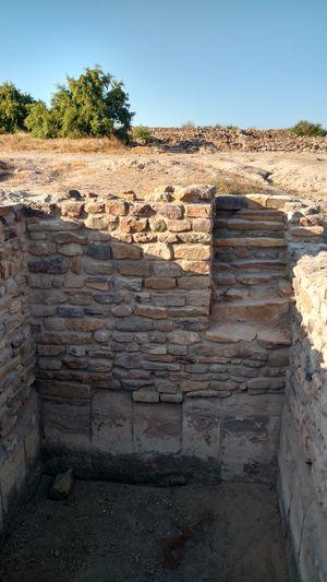 The Harappan ruins of Dholavira
