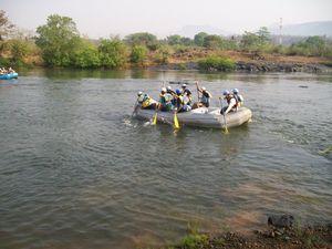 Weekend getaway to Kolad and Harihareshwar