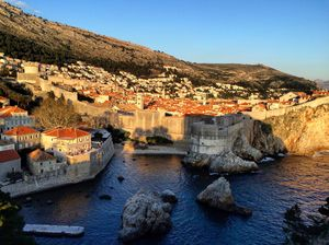 Exploring Dubrovnik- The King's Landing