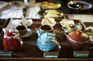 The quietest tea house in the quaintest part of the world