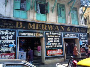 Bun maska and chai in the 100-year-old B Merwan & Co. Mumbai before it was shut down
