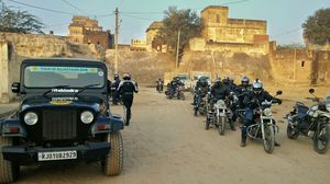 Royal Enfield Tour of Rajasthan- Day 2