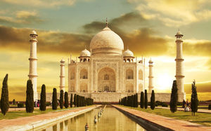 A Teardrop on the Face of Eternity: The Taj Mahal