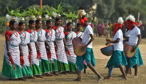 Dance With The Tribal Rhythms On Red Soil Amidst Green Forests - A JangalMahal Retreat