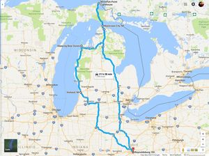 "5 Day Road Trip Through ""Pure Michigan"""