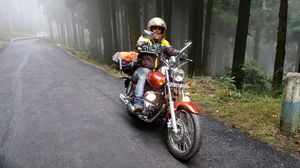 Darjeeling the Queen of hills visited by Motorcycle.