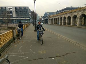 Paris on Bicycle (That too free) - An indelible experience