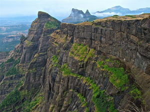 To the lush heights of Harishchandragad