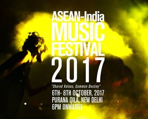 A Music Festival With Free Entry, Backdrop Of The Old Fort And The Best Music From Asian Countries