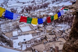 LEH IN WINTER ! An alternate Path to Chadar