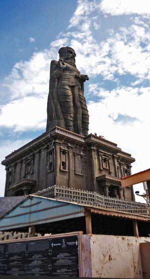 Sticky Feet At Thirvalluvar Statue