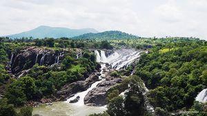 Shivanasamdura and  Talakadu-One day escapade from Bengaluru