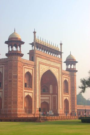 With Love. From Agra.