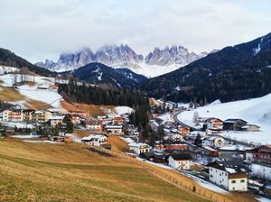 The majestic Dolomites and Italian Alps