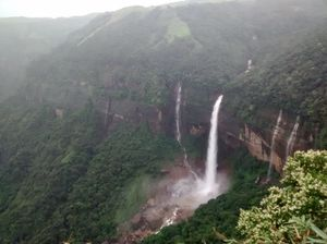 Get wet at the wettest place on Earth- Cherrapunjee