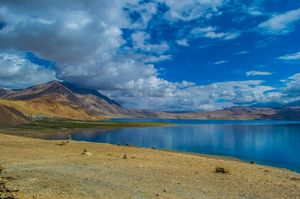 Leh Ladakh: the place where the sky is the bluest of blues.