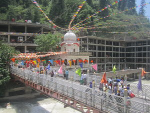 MANIKARAN: Holy Trinity of Gurudwara, Temples and Hot Springs.
