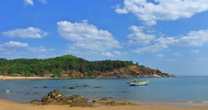 Gokarna - the west coast of India