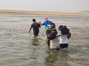 Along the coast of Odisha