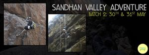 120ft Rappelling and Exploring Sandhan Valley (Batch 2) on 30th and 31st May 2015 !