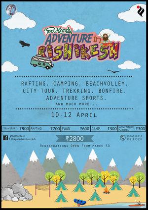FoolHardy Adventure in Rishikesh