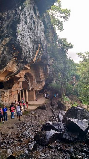 Hidden caves behind a waterfall – Kondana Trek
