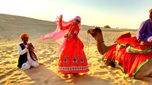 Jaisalmer, The Golden Town In The Thar Desert, Rajasthan
