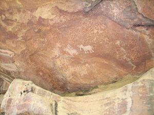 Caves of Bhimbetka!