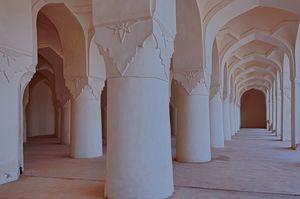 Solah Khamba Mosque and Bidar Palace Interiors