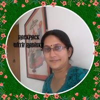 Radhika.K.Narasimhan(Backpack with Radhika) Travel Blogger